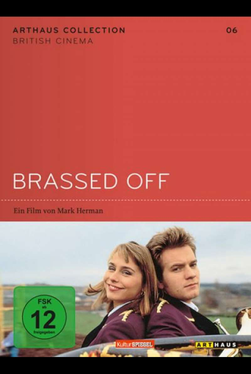 Brassed Off - DVD-Cover