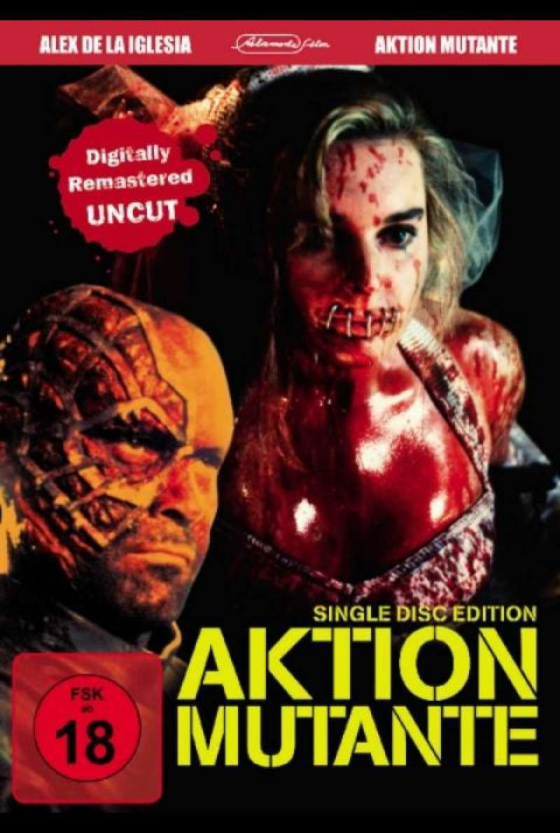 Aktion Mutante - DVD-Cover