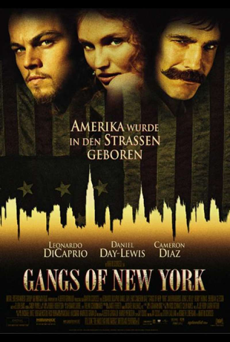 Gangs of New York - Filmplakat
