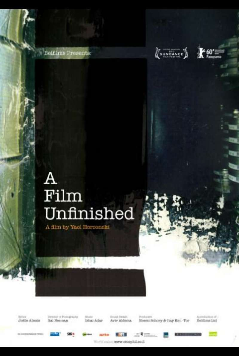 A Film Unfinished - Filmplakat (IL)