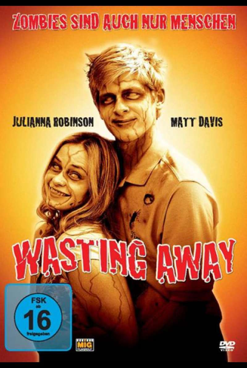 Wasting Away - DVD-Cover