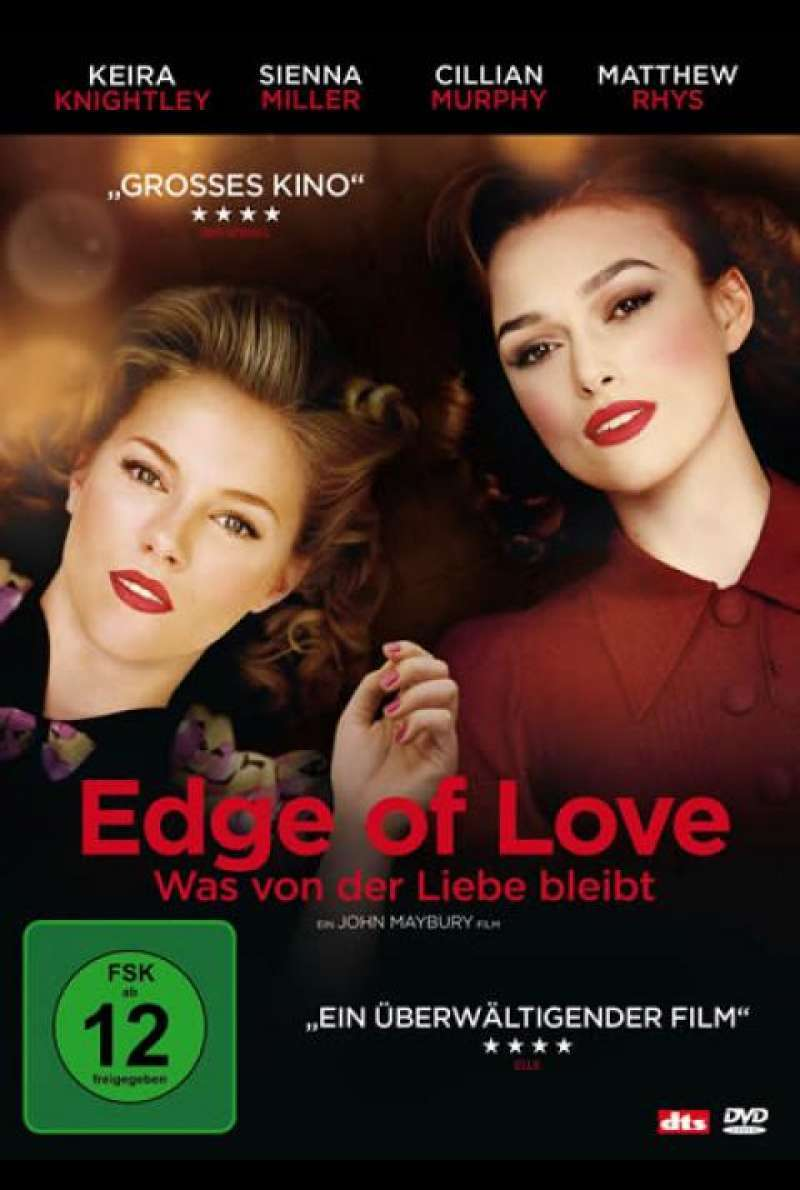 Edge of Love - DVD-Cover