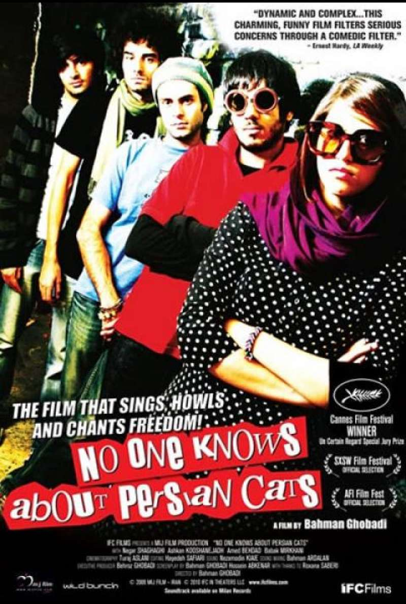 No One Knows About Persian Cats - Filmplakat (US)