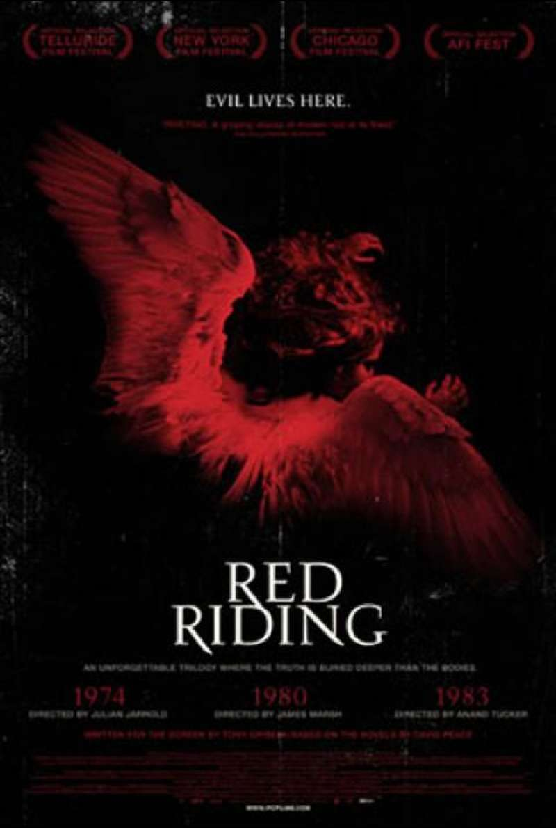 Red Riding 1974 - Filmplakat (US)