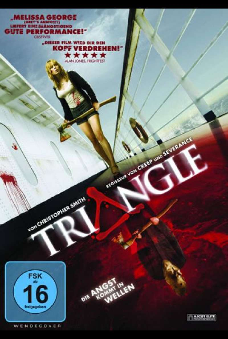 Triangle (2009) - DVD-Cover