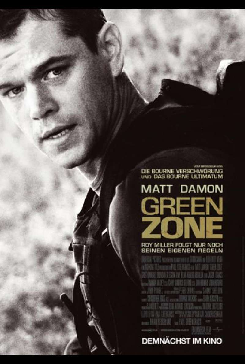 Green Zone - Filmplakat