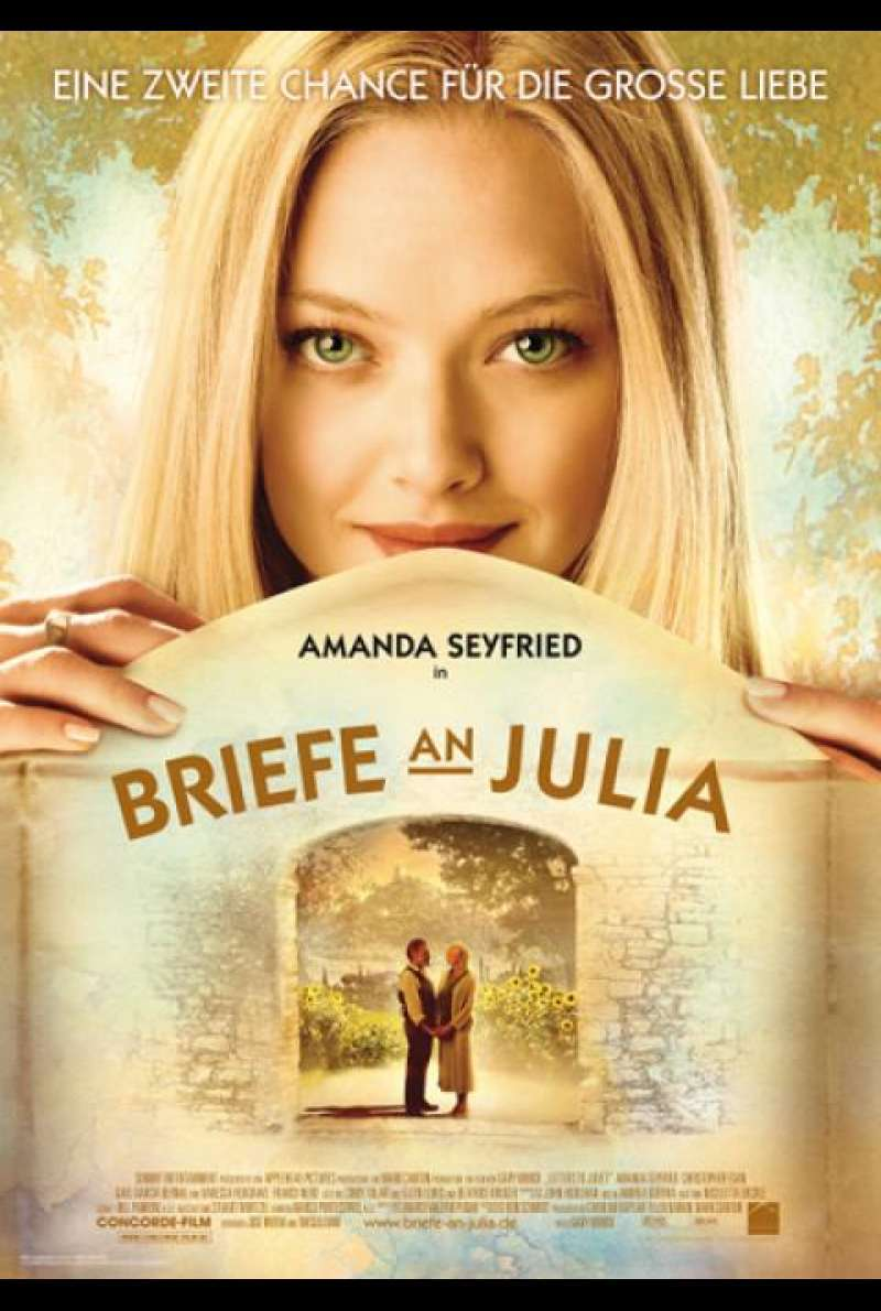 Briefe an Julia - Filmplakat