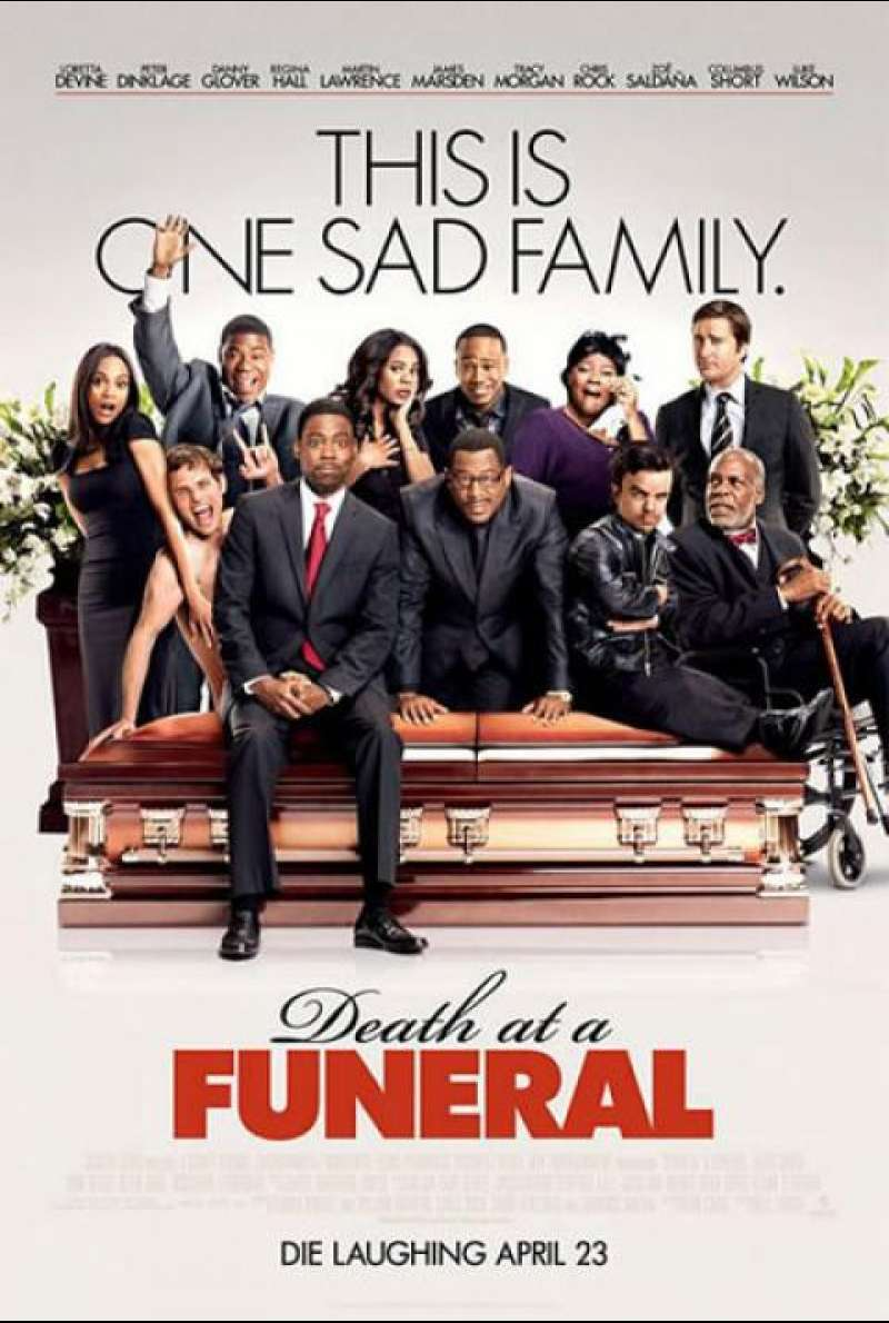 Death at a Funeral - Filmplakat (US)