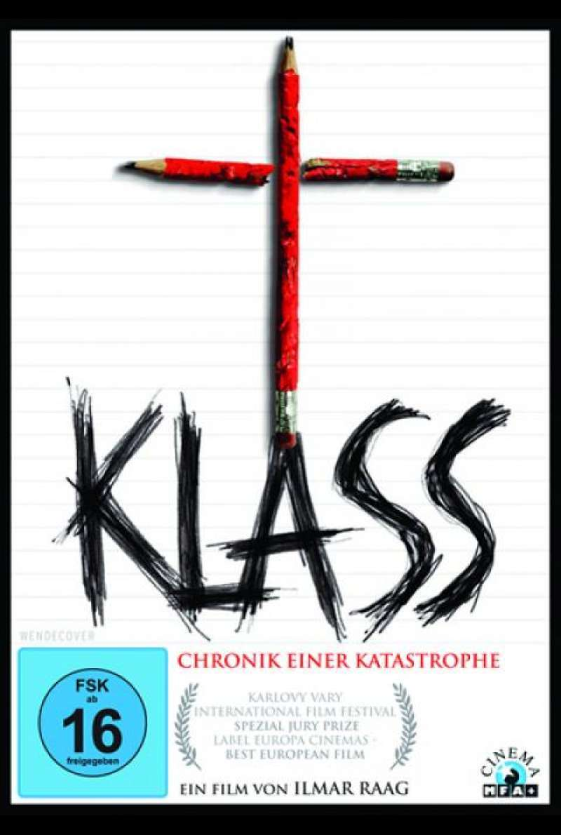Klass - Chronik einer Katastrophe - DVD-Cover