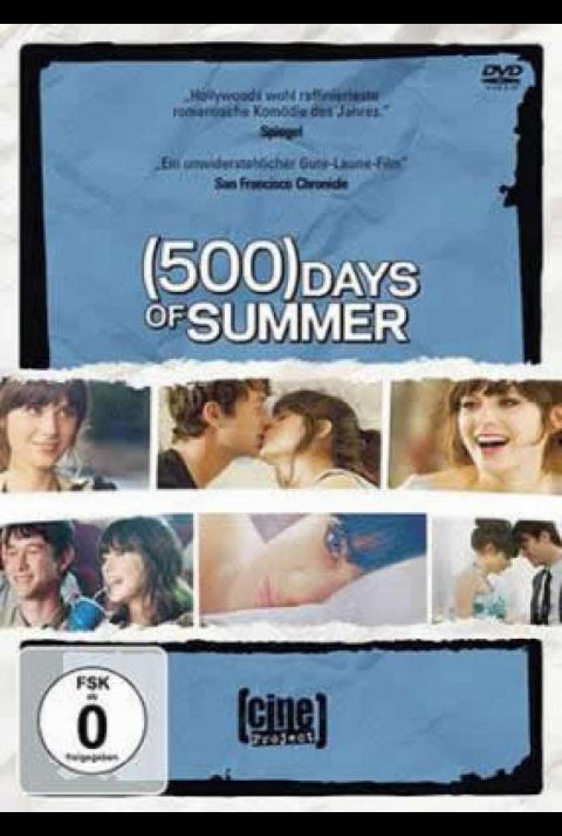 (500) Days of Summer - DVD-Cover