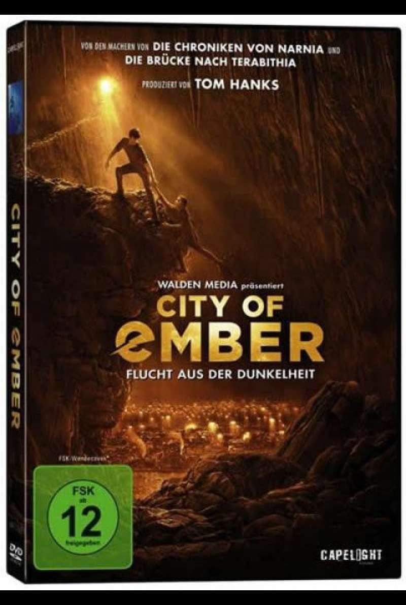 City of Ember - DVD-Cover