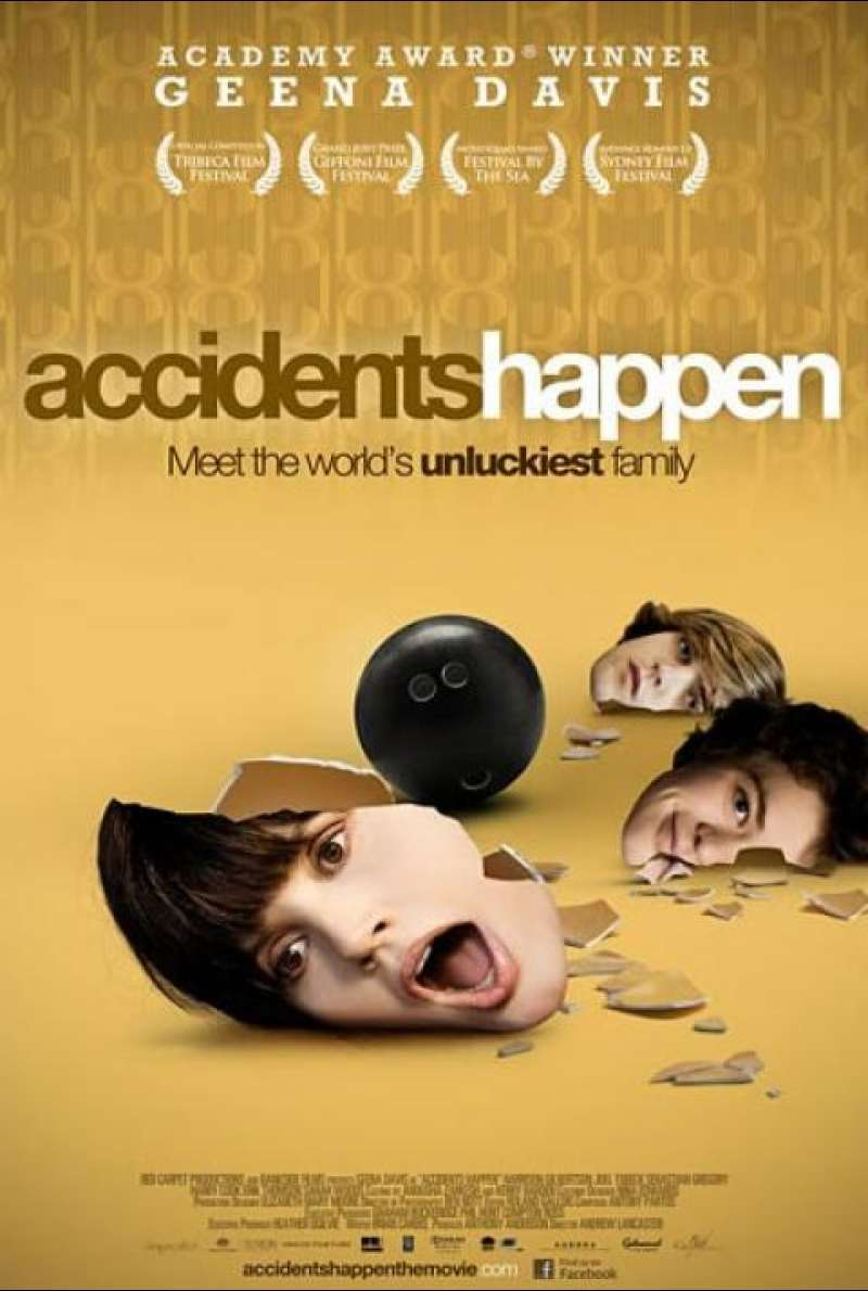 Accidents Happen - Filmplakat (US)