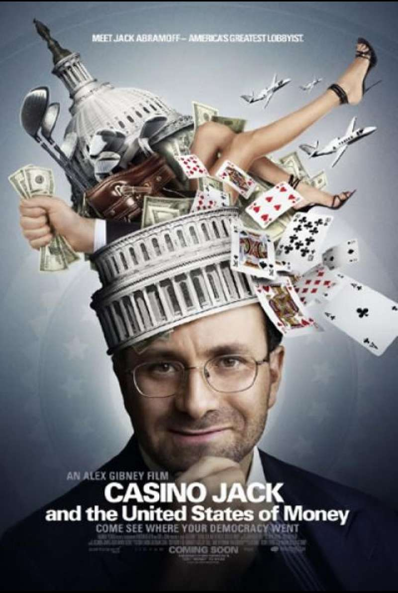 Casino Jack and the United States of Money - Filmplakat (US)