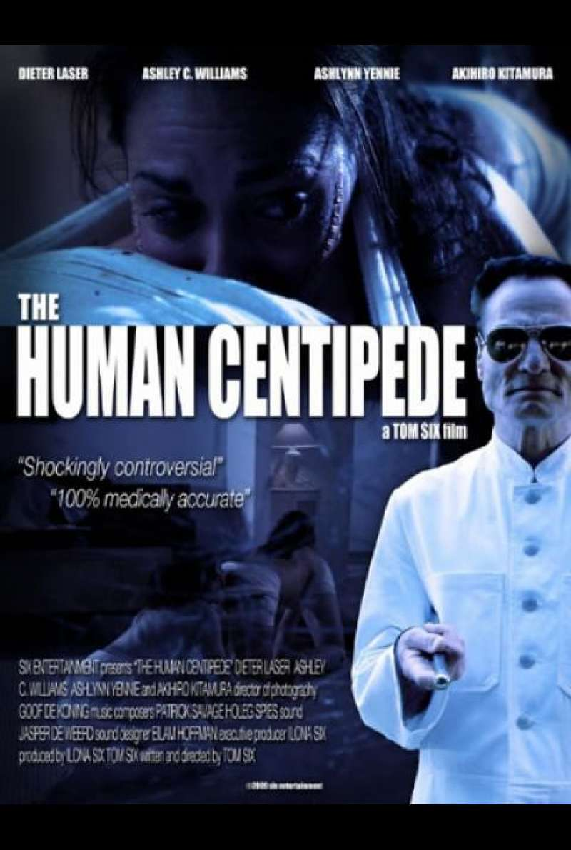 The Human Centipede - Filmplakat (US)