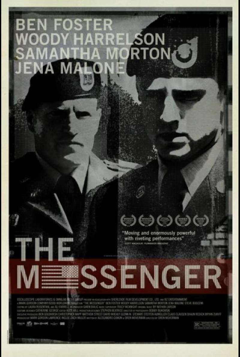 The Messenger - Filmplakat (US)