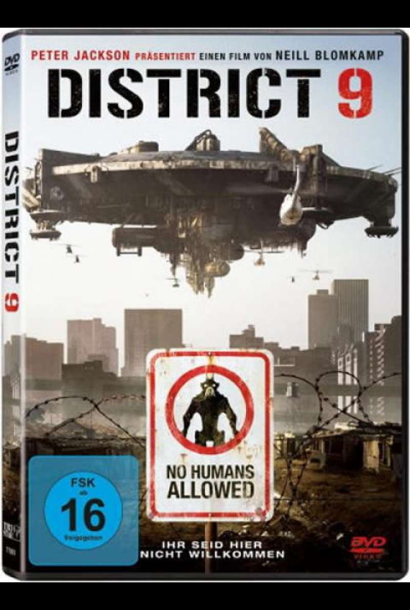 District 9 - DVD-Cover