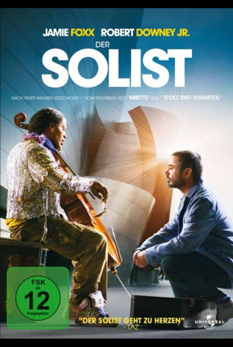 Der Solist - DVD-Cover