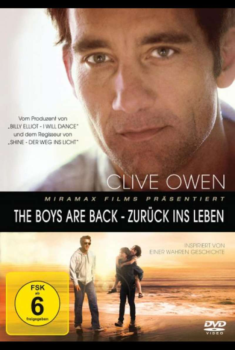 The Boys are back - DVD-Cover