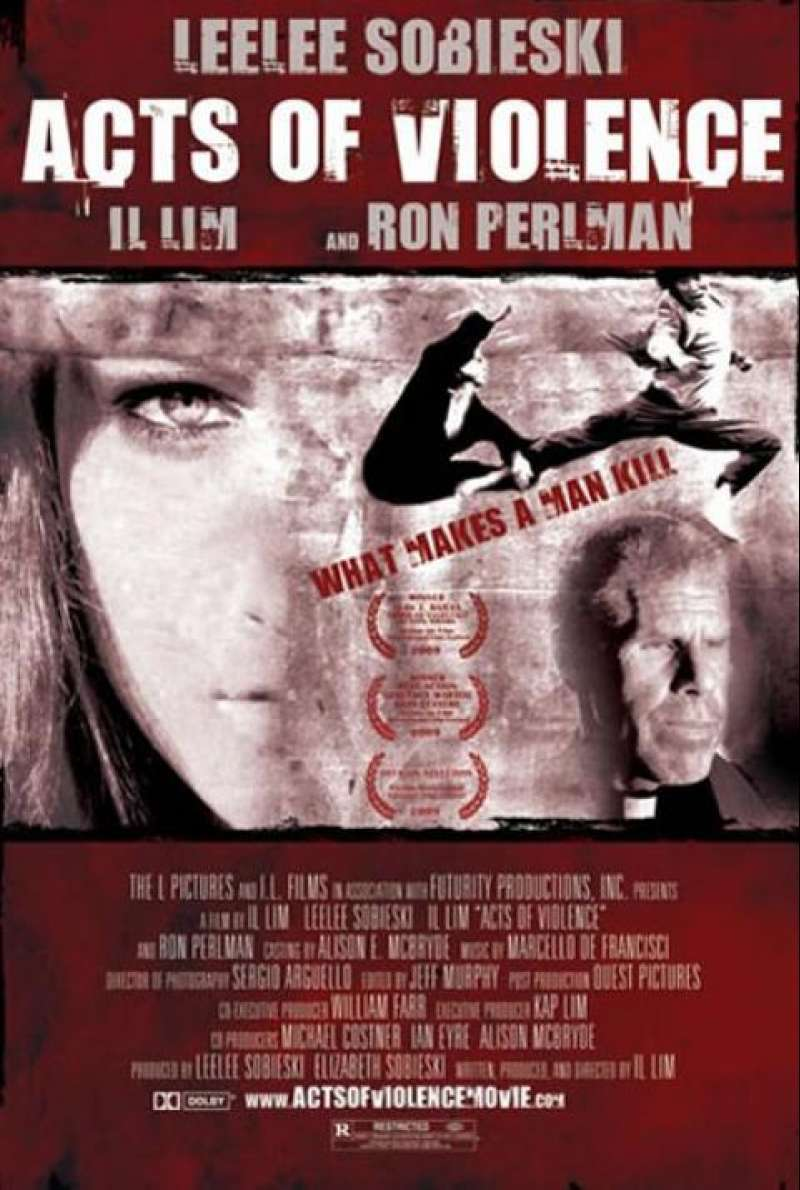 Acts of Violence - Filmplakat (US)