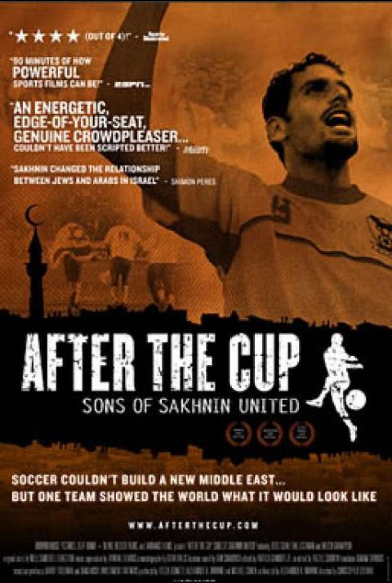 After the Cup: Sons of Sakhnin United - Filmplakat (US)