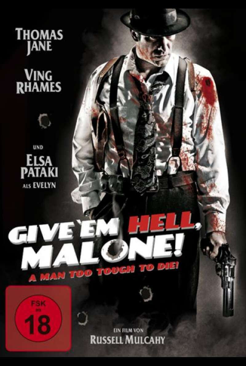 Give 'em Hell, Malone! - DVD-Cover