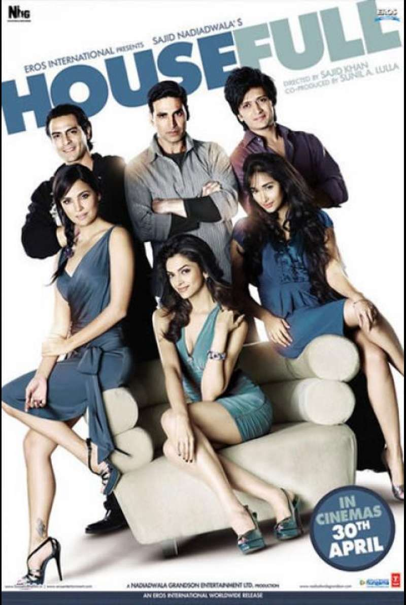 Housefull - Plakat (US)