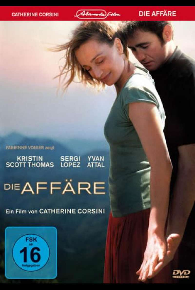 Die Affäre - DVD-Cover