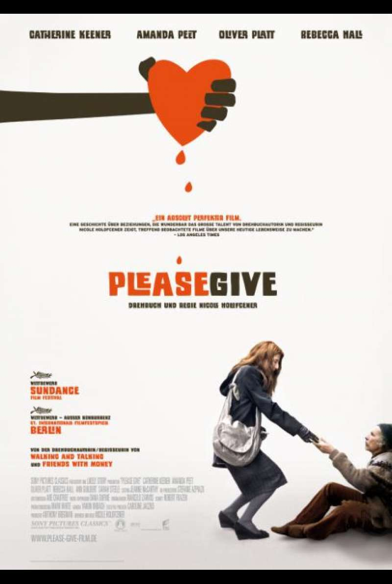 Please Give - Filmplakat