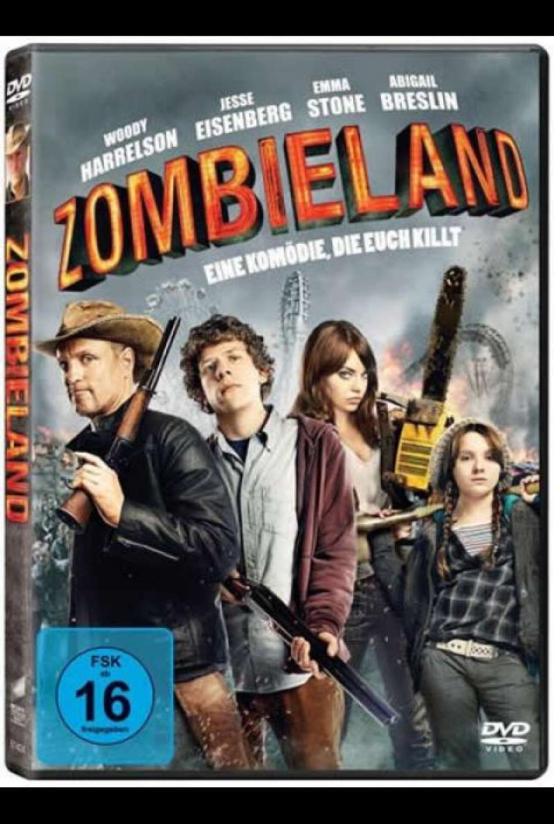 Zombieland - DVD-Cover