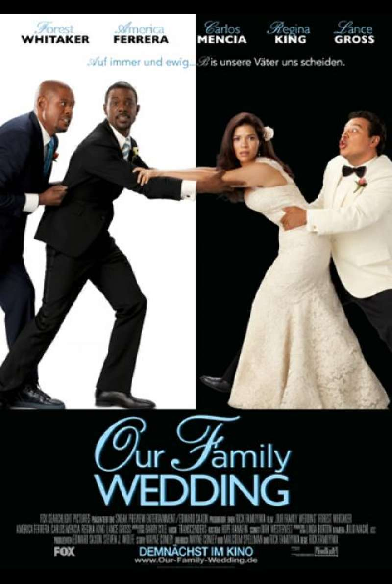Our Family Wedding - Filmplakat