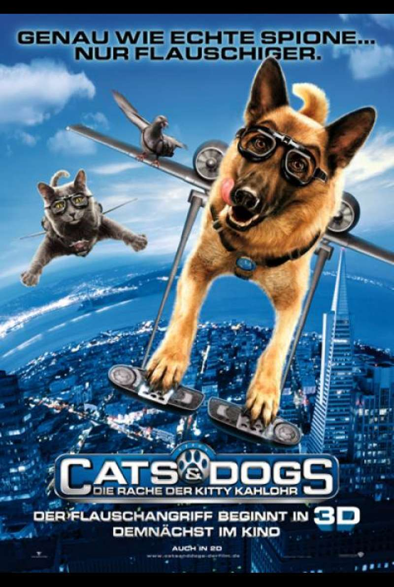 Cats & Dogs: Die Rache der Kitty Kahlohr - Filmplakat
