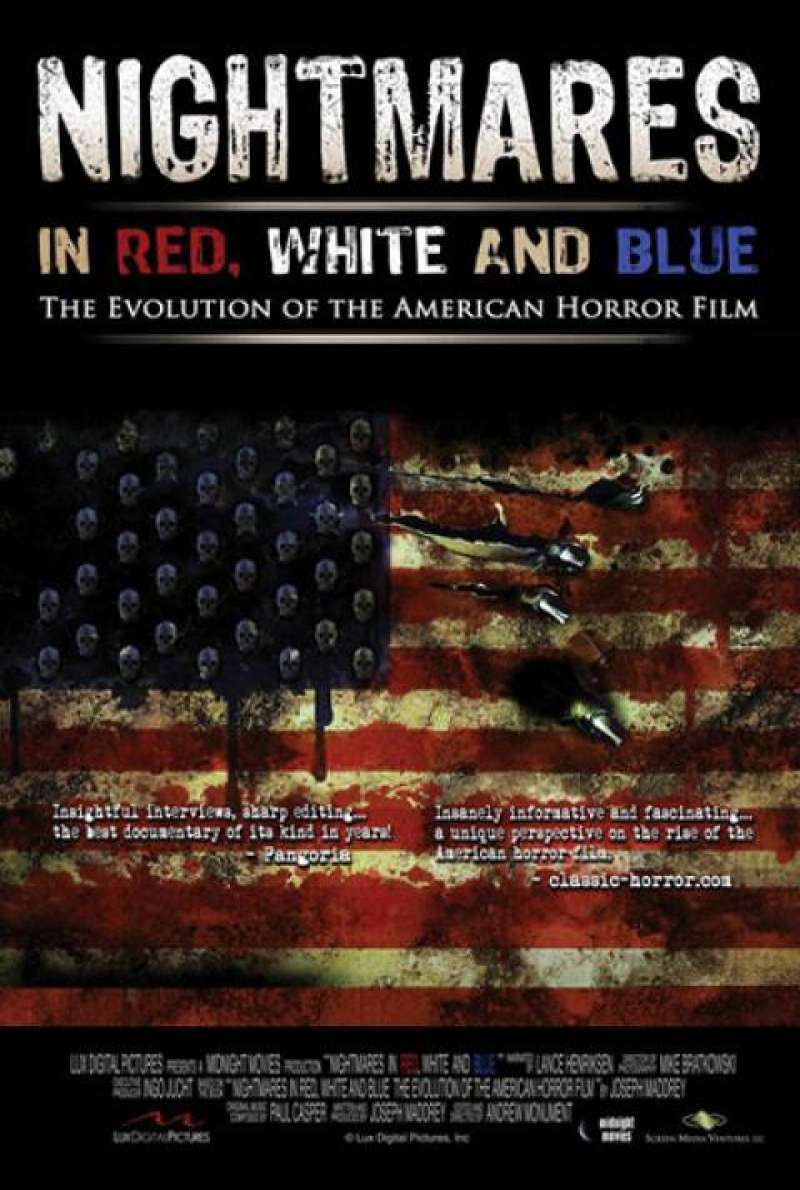 Nightmares in Red, White and Blue - Filmplakat (US)