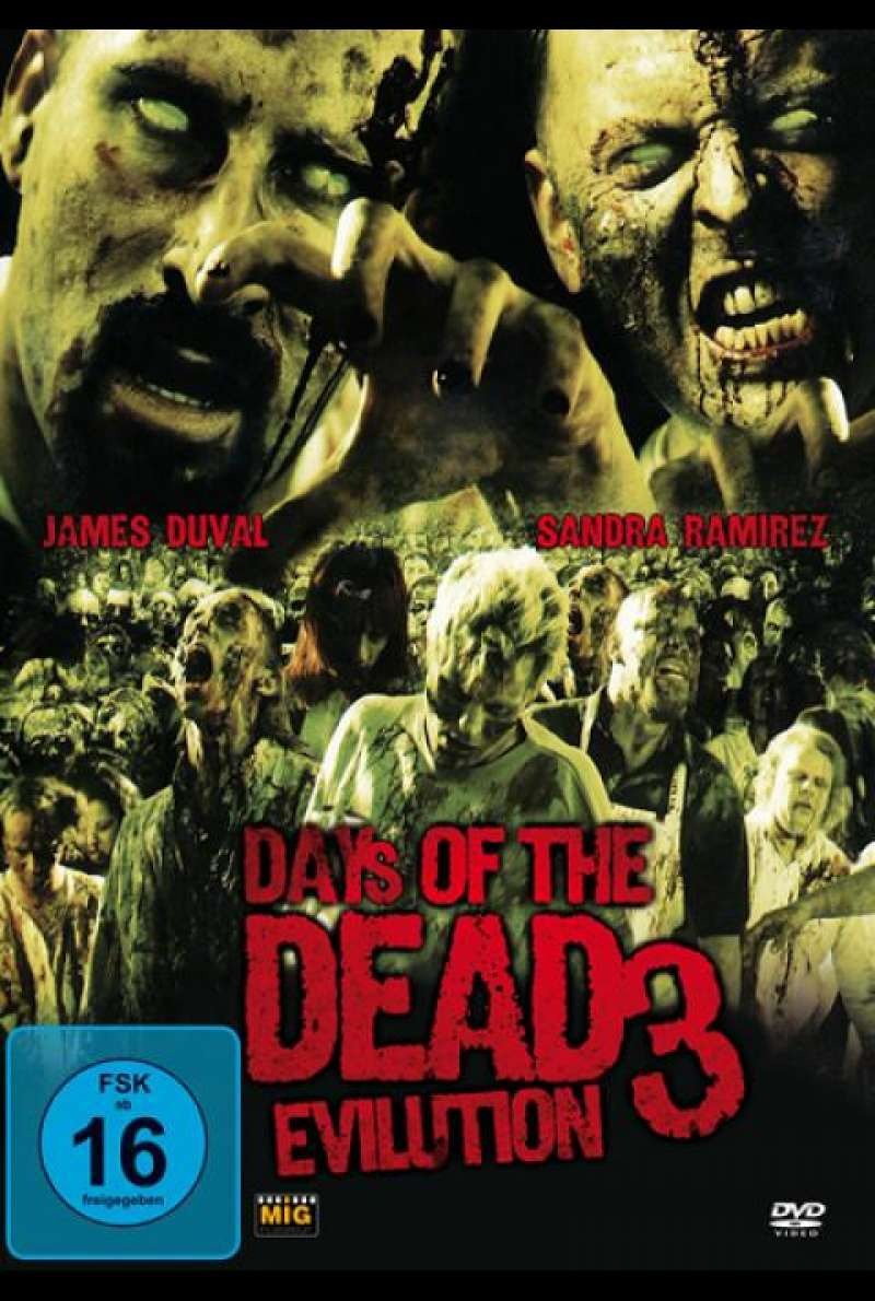 Days of the Dead 3 - Evilution - DVD-Cover