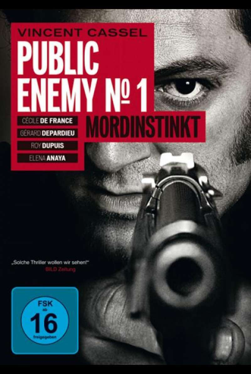 Public Enemy No.1 - Mordinstinkt - DVD-Cover