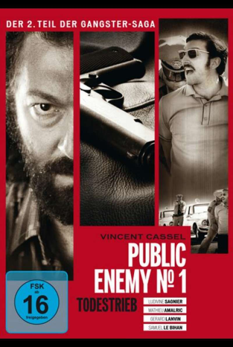 Public Enemy No.1 - Todestrieb - DVD-Cover