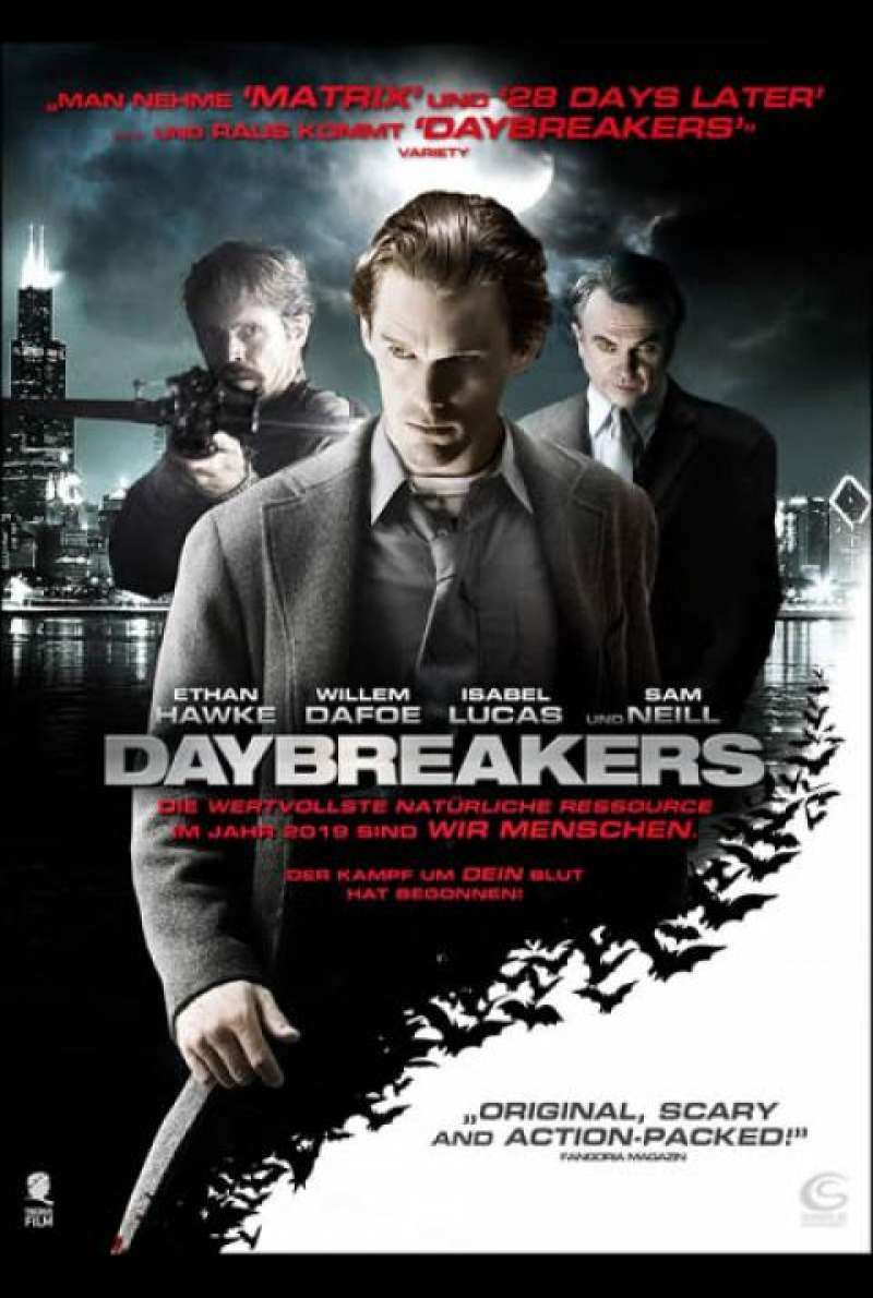 Daybreakers - DVD-Cover