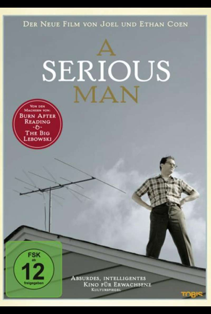 A Serious Man - DVD-Cover