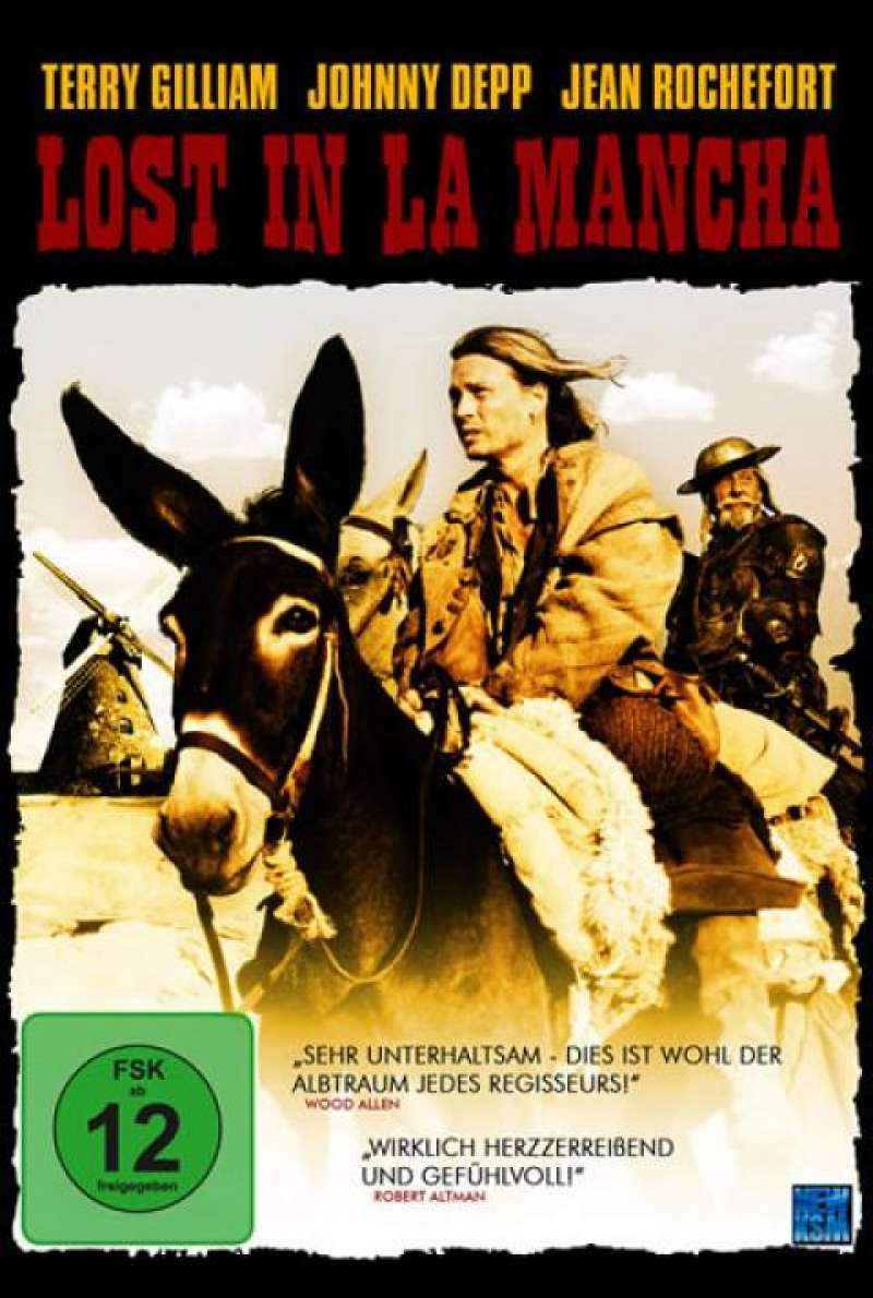 Lost in La Mancha - DVD-Cover