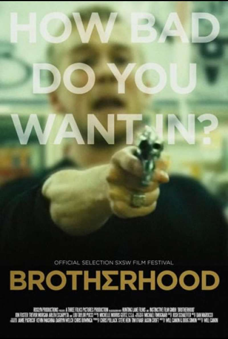 Brotherhood (2010) - Filmplakat (US)