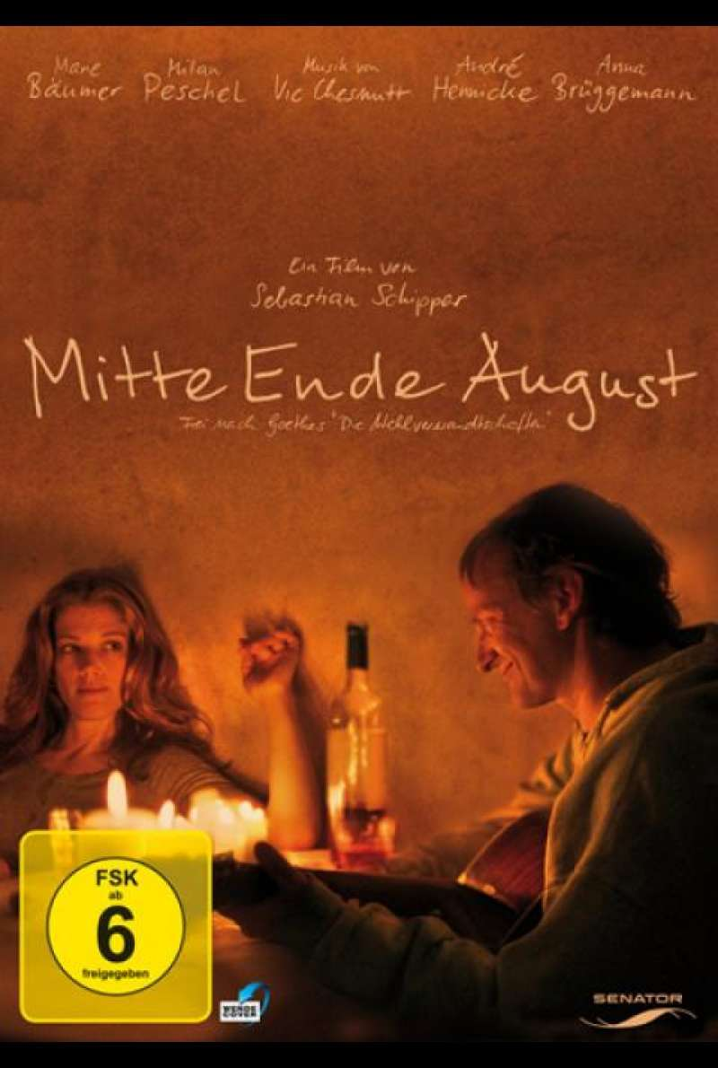 Mitte Ende August - DVD-Cover