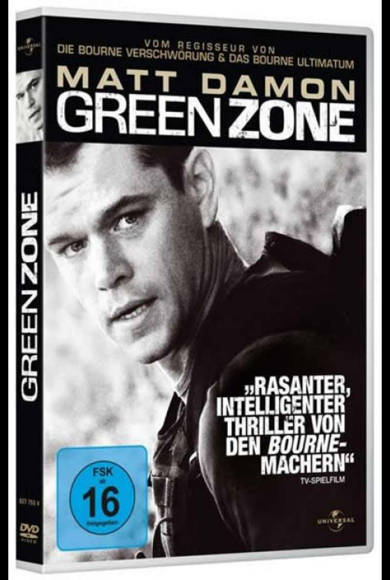 Green Zone - DVD-Cover