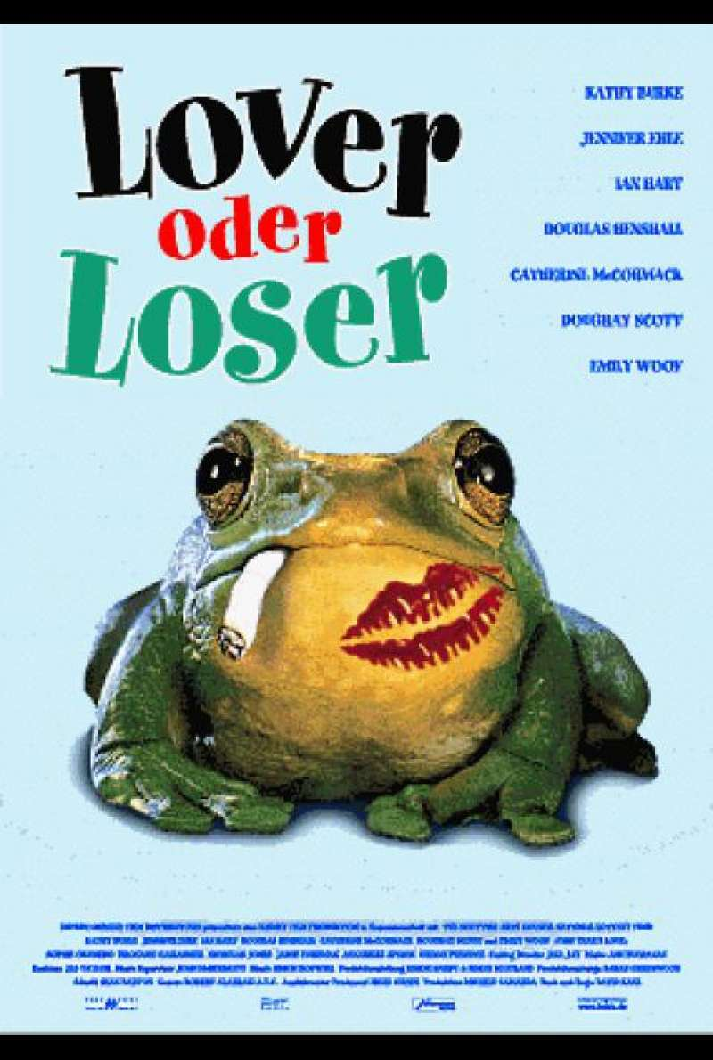Lover oder Loser / This Year's Love - Filmplakat
