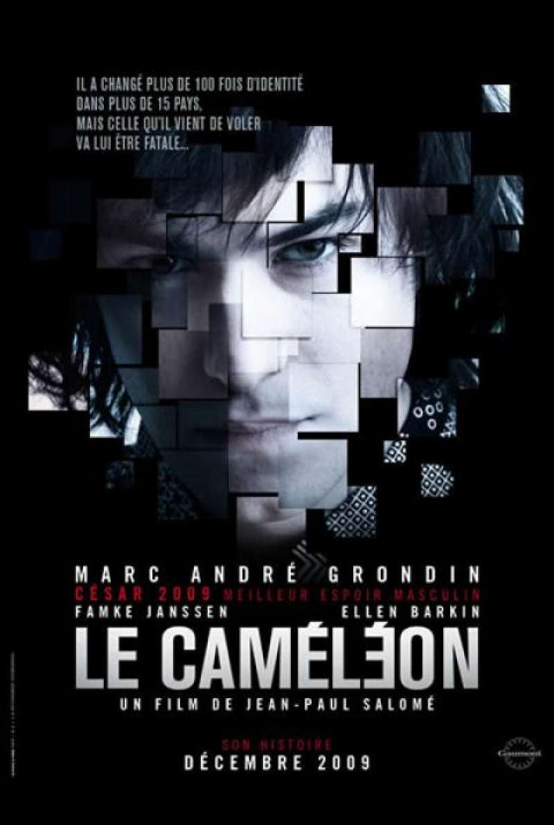 The Chameleon - Filmplakat (FR)