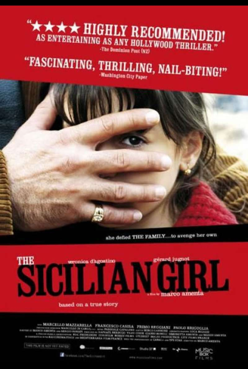 The Sicilian Girl - Filmplakat (US)