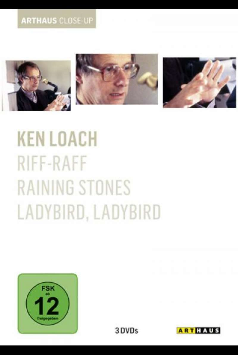 Ken Loach - Arthaus Close-Up - DVD-Cover