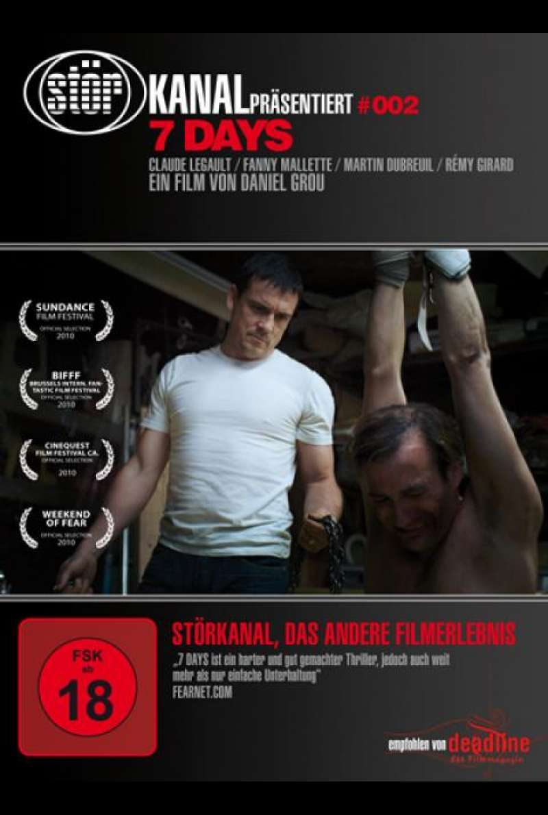 7 Days - DVD-Cover