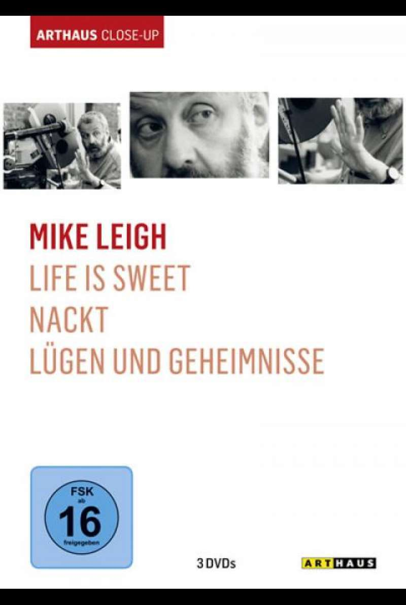 Mike Leigh - Arthaus Close-Up - DVD-Cover