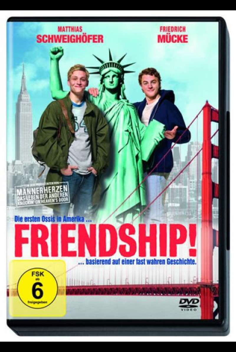 Friendship! - DVD-Cover
