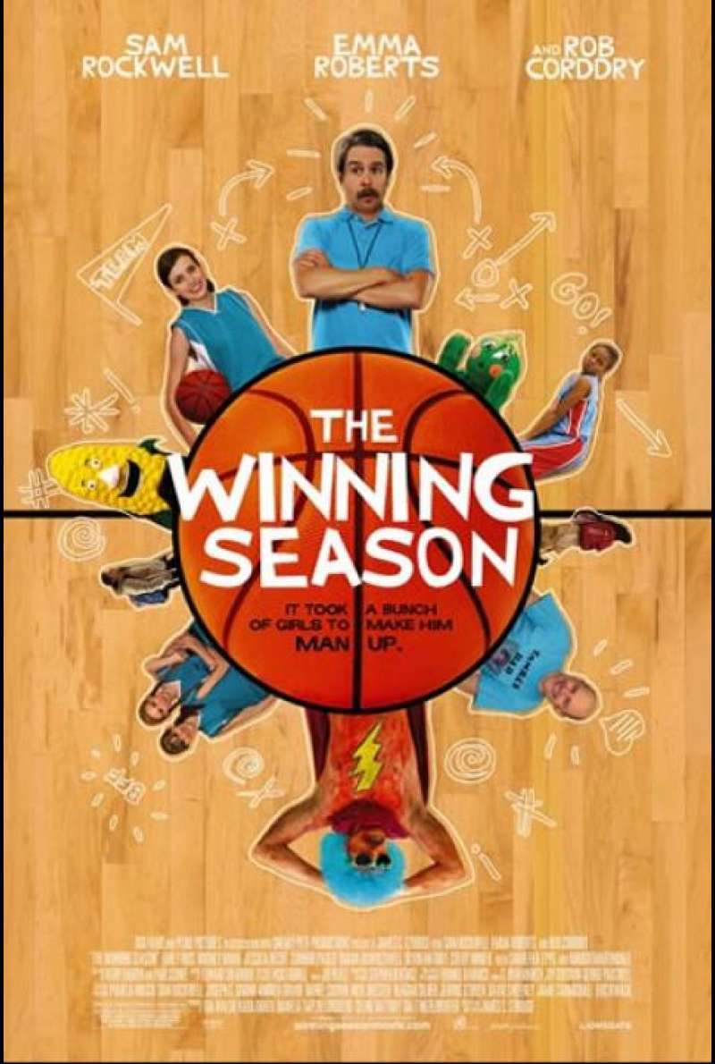 The Winning Season - Filmplakat (US)