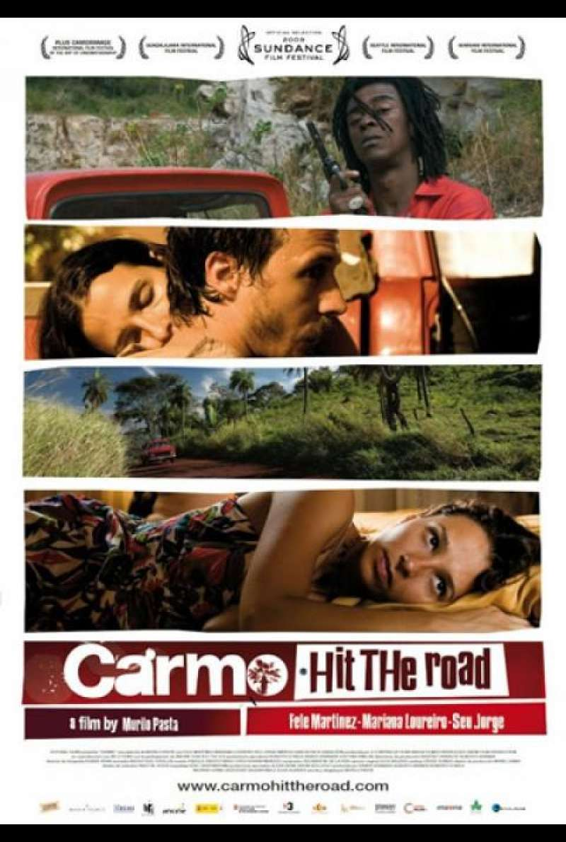 Carmo, Hit the Road - Filmplakat (US)